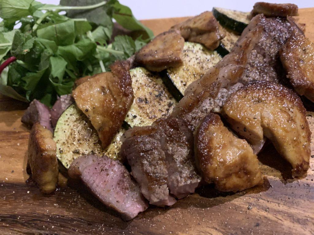 【期間限定】お好きなステーキに最高級のフォアグラを