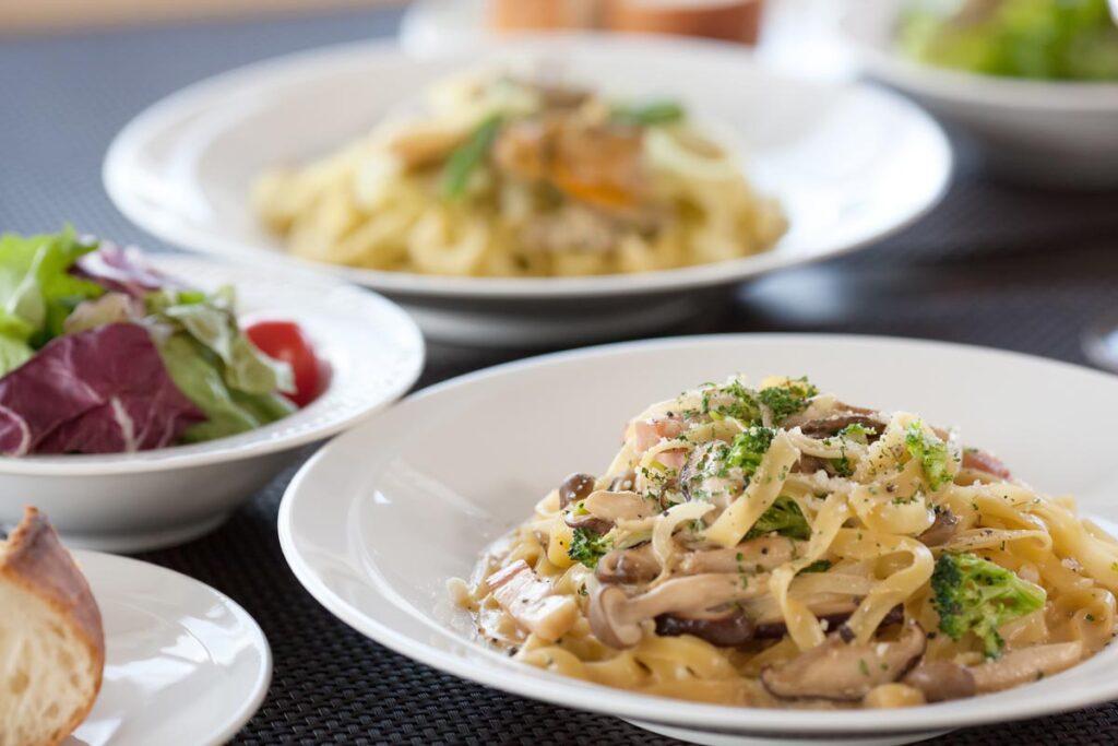 イタリアンのパスタの種類と、よく合うソースの色々