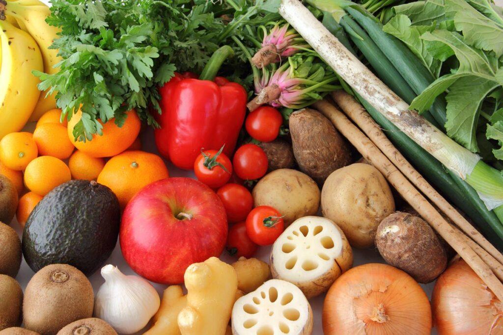 【イタリアンは前菜に野菜をふんだんに使うことが多い】